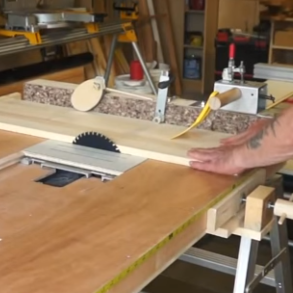 A table saw is often the first machine the aspiring woodworker wants for the shop. But even a lightweight contractor's saw is not cheap, and a really good cabinet saw is both expensive and ...